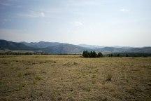 Open fields of Yellowstone