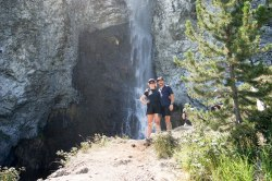 Fairy Falls, Yellowstone, WY