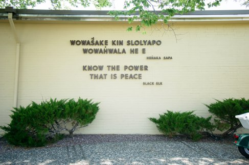 Words from the Little Bighorn Battlefield, MT